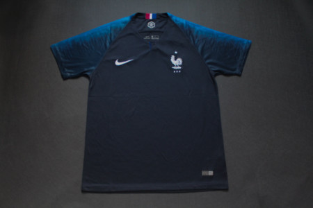 2018 France home soccer jersey