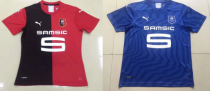 19-20 Stade Rennais home away blue soccer jersey