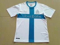 size S-4XL 19-20 Marseille white 120th anniversary jersey