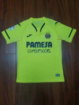 19-20 Villarreal home yellow soccer jersey