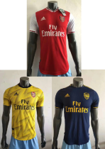player version add+$5 19-20 Arsenal home away third  soccer jersey
