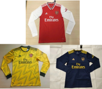 19-20 Arsenal home away third long sleeves soccer jersey