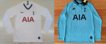 19-20 Tottenham Hotspur home third long sleeves soccer jersey