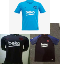 19-20 barcelona blue purple dard bule training jersey