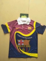 19-20 Barcelona special version red and blue soccer jersey