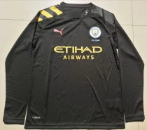 19-20 Manchester City away black long sleeves