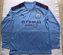 size S-4XL 19-20 Manchester City home long sleeves