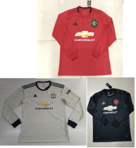 19-20 Manchester United home away third long sleeves soccer jersey