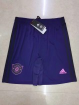 19-20 Manchester United goalkeeper purple pants