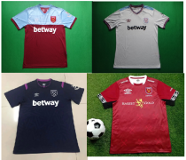 19-20 West Ham United home away white third black eSports version soccer jersey
