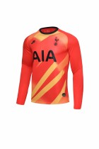 19-20 Tottenham Hotspur goalkeeper orange long sleeves  soccer jersey