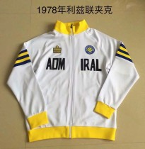 Retro Leeds United  jacket 1978 white