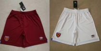 19-20 West Ham United home away white pants
