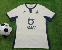 19-20 Swansea City home soccer jersey
