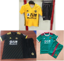 kids kit 19-20 Wolverhampton Wanderers home away third soccer jersey