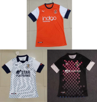 19-20 Luton Town home away third soccer jersey