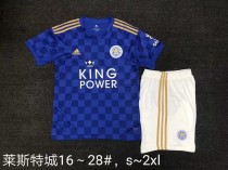 kids kit 19-20 Leicester City home soccer jersey