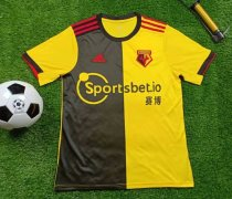 19-20 Watford home socer jersey