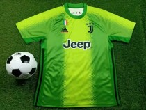 19-20 Juventus x adidas x Palace fourth goalkeeper green soccer jersey size S-XXL