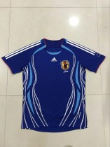 Retro 2006 Japan home soccer jersey size S-2XL
