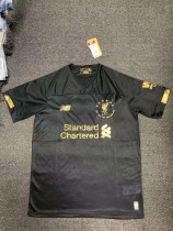 19-20 Liverpool FC six times collection goalkeeper black soccer jersey size S-XL