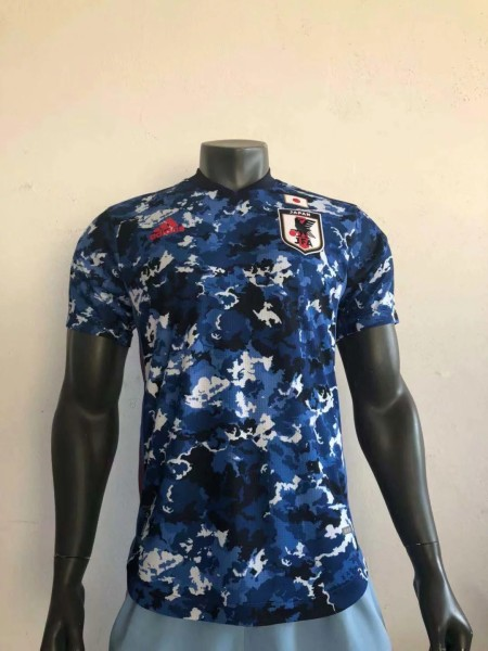 player version add+$5 2020 Japan home soccer jersey size S-XXL