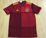 size S-4XL 2020 Spain home soccer jersey