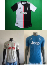 player version 19-20 Juventus home away third soccer jersey size S-2XL