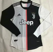 player version add+$5 19-20 Juventus home longsleeves soccer jersey S-XXL