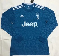 19-20 Juventus third long sleeves soccer jersey S-XXL