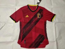 player version add+$5 2020 Belgium home soccer jersey size S-XXL