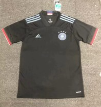 2020 Germany black soccer jersey size S-2XL