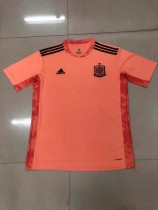 2020 Spain goalkeeper soccer jersey size S-2XL