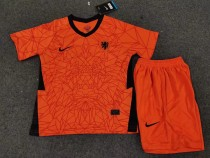 kids kit 2020 Netherlands home soccer jersey
