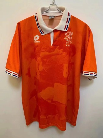 Retro 1996 Netherlands home soccer jersey