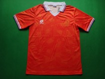 Retro 1991 Netherlands home soccer jersey