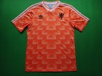 Retro 1988 Netherlands   Holland home soccer jersey