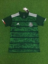 19-20 Mexico green soccer jersey