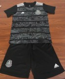 kids kit 2019-20  Mexico black soccer jersey
