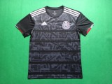 size S-4XL 19-20 Mexico black soccer jersey