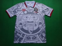 Retro 1998 Mexico away soccer jersey