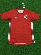 19-20 Mexico red goalkeeper soccer jersey