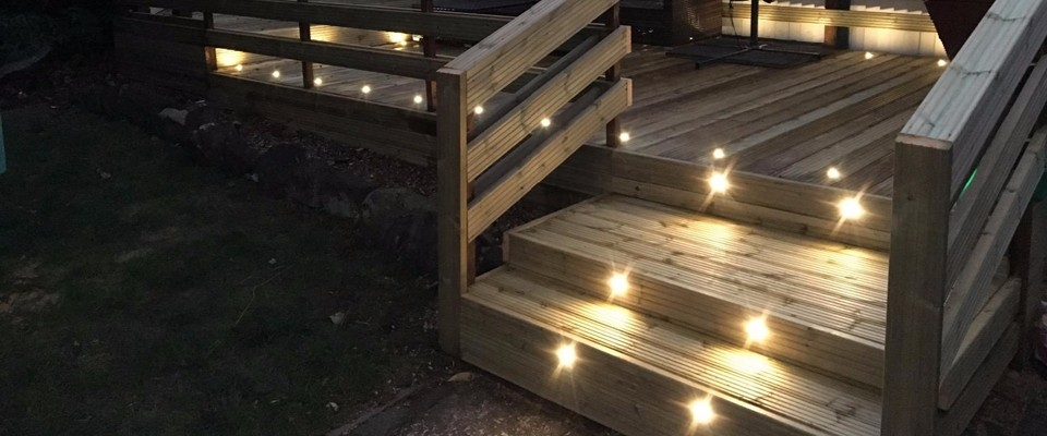 LED step lighting