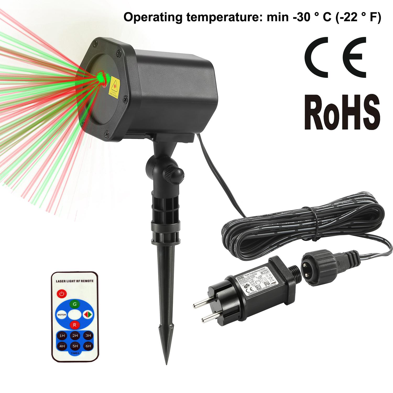 US$ 29.99 - FVTLED LED Projector Laser Lights 6W Red & Green ...