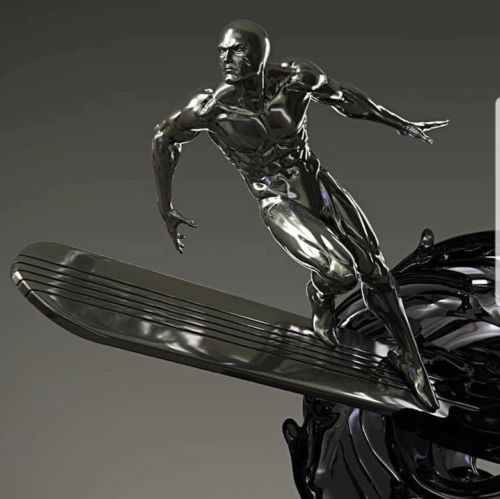 Pre sale Private Custom Silver Surfer Fantastic Four 1//4 Scale Statue