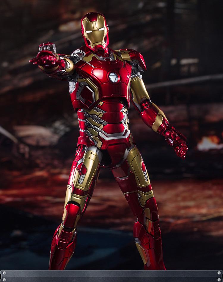 King Arts 1//9 Diecast Figure Series DFS009 Avengers Age of Ultron IronMan Mark43