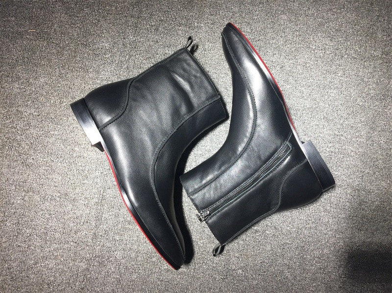size 40 e1a0d 6c99e Red Bottom Sneaker Christian Louboutin Boots For Mens