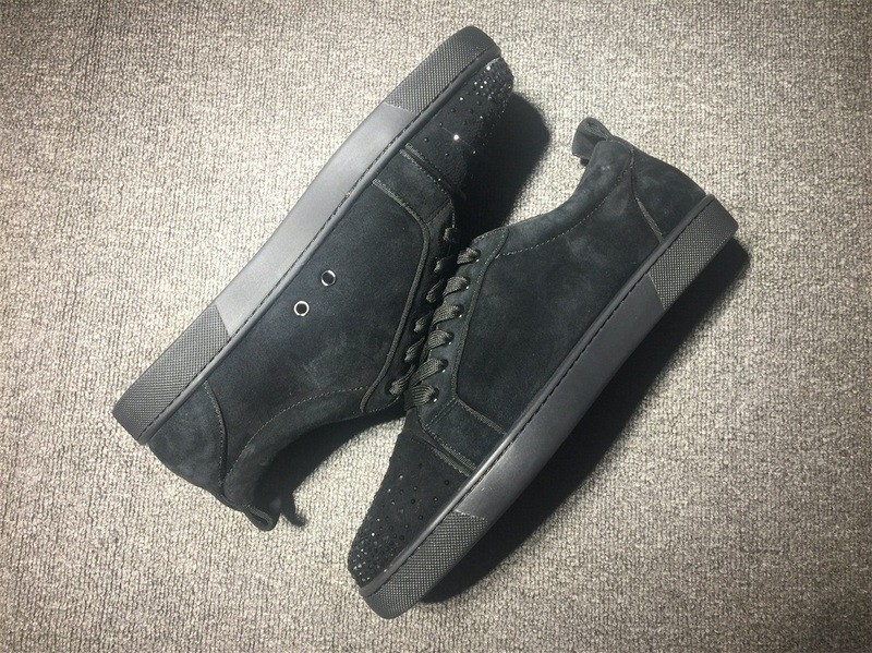 innovative design f50e9 989d3 Christian Louboutin Sneaker Low Top Junior Men Shoes