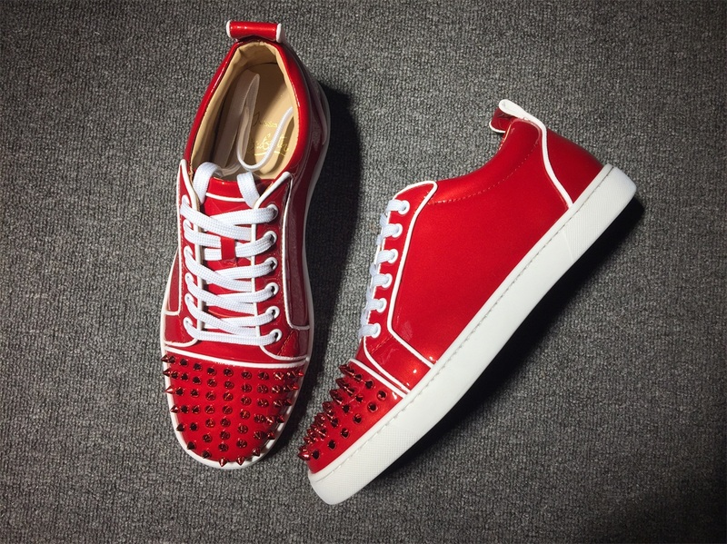 innovative design a9a34 cc81f Christian Louboutin Sneaker Low Top Junior Men Shoes
