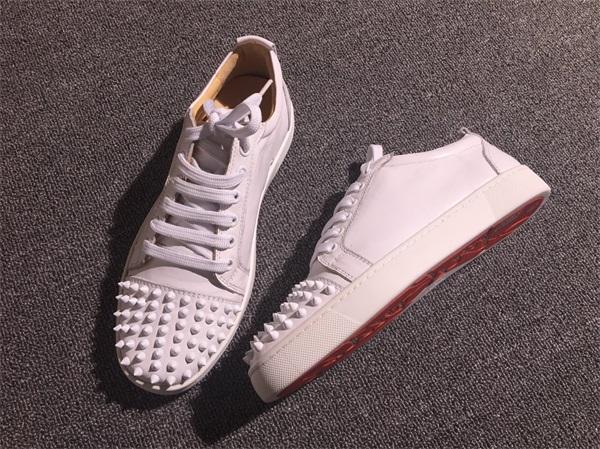innovative design 1a493 1efb4 Christian Louboutin Sneaker Low Top Junior Men Shoes
